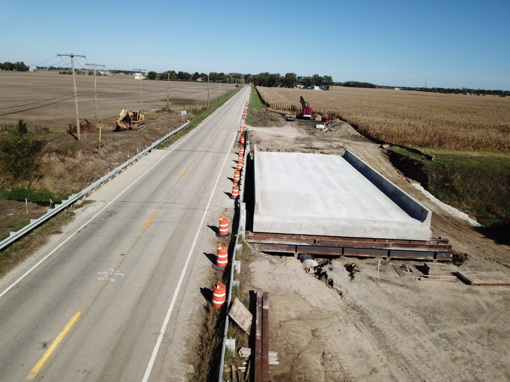 IDOT's Fastest Highway Bridge Replacement Completed in 3