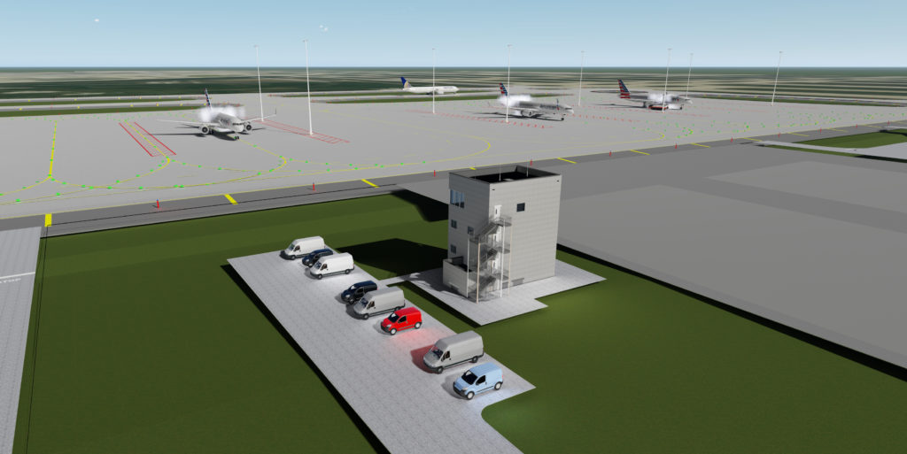 O Hare 21 Deicing Facility Amp Crossfield Taxiway Milhouse